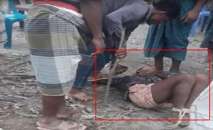 মসজিদে চুরির অভিযোগে ভূরুঙ্গামারীতে কিশোরকে অমানবিক নির্যাতন