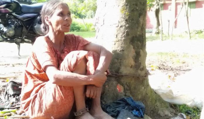 শেকলে বাঁধা জীবন থেকে মুক্তি পেলেন বৃদ্ধা লতিফুন বেগম