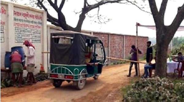 রূপগঞ্জে শিক্ষার্থীদের করোনা প্রতিরোধে অভিনব কৌশল