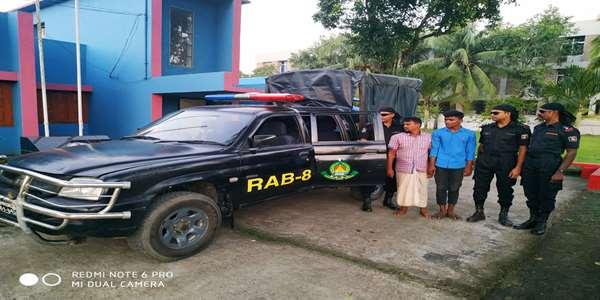 পটুয়াখালীতে প্রধান আসামীসহ দুই ব্যক্তিকে গ্রেফতার