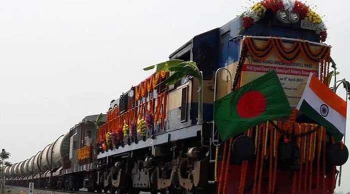 করোনাতঙ্ক কাটিয়ে ইন্দো-বাংলাদেশ পণ্যবাহী ট্রেন চলাচল শুরু