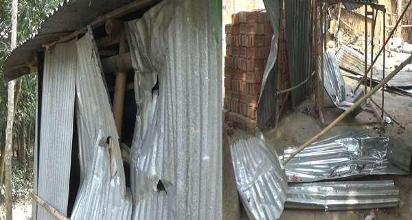ঝিনাইদহে তুচ্ছ ঘটনায় প্রতিপক্ষের হামলা, বাড়ীঘর ভাংচুর, লুটপাট
