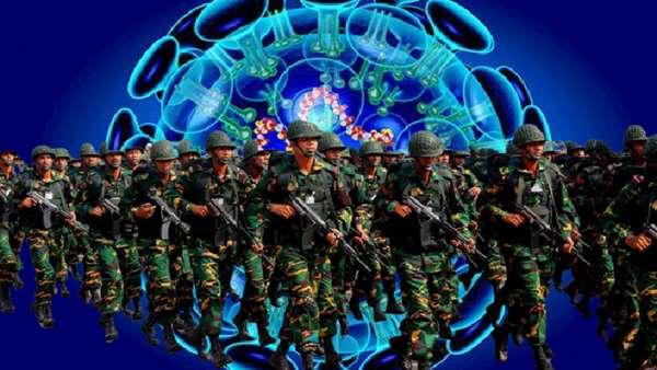 করোনা ঠেকাতে ২৪ মার্চ থেকে মাঠে থাকবে সেনাবাহিনী