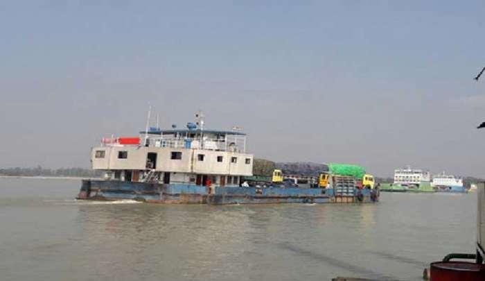 শিমুলিয়া-কাঁঠালবাড়ী নৌরুটে ফেরি চলাচল শুরু