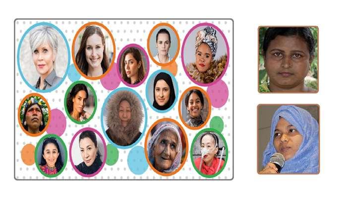 বিবিসি'র প্রভাবশালী ১০০ নারীর তালিকায় দুই বাংলাদেশি