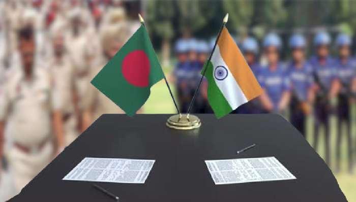 সন্ত্রাসদমনে একসঙ্গে কাজ করবে ভারত-বাংলাদেশে পুলিশ