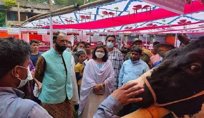রায়পুরে প্রানী নিয়ে 'প্রানী সম্পদ প্রদর্শনী' উদ্বোধন