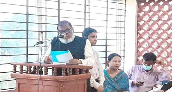 মন্ত্রী আ ক ম মোজাম্মেল হক এমপি