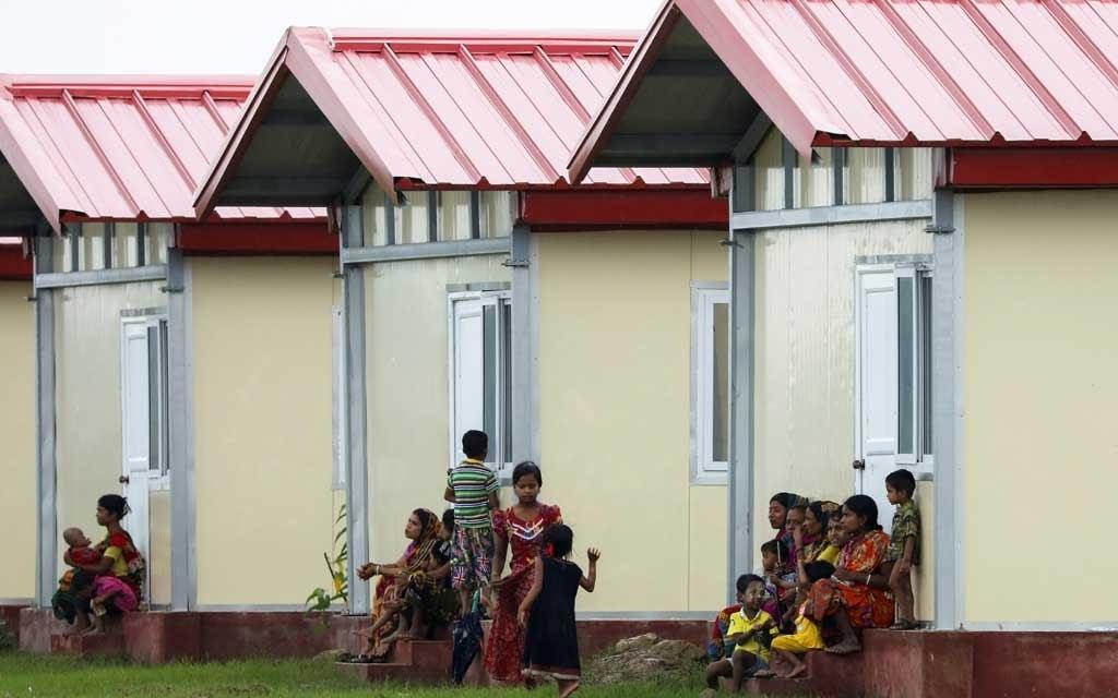 রাখাইনে রোহিঙ্গাদের জন্য ২৫০টি ঘর হস্তান্তর করল ভারত