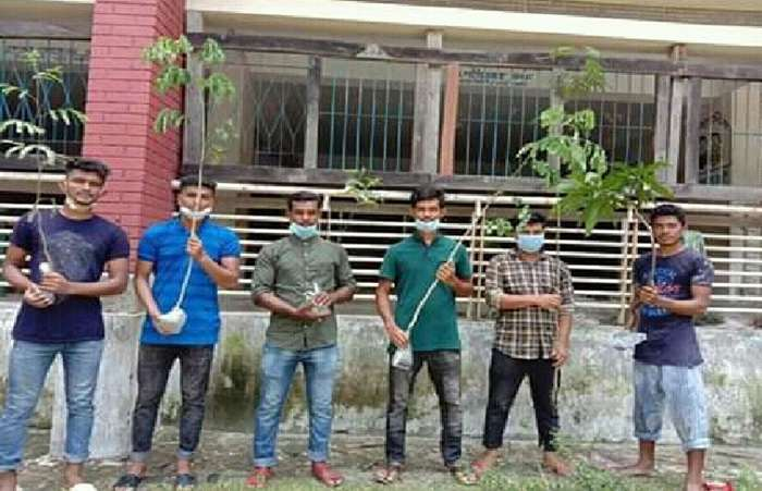 রাঙ্গাবালীতে ছাত্রলীগের বৃক্ষরোপণ কর্মসূচি উদ্বোধন