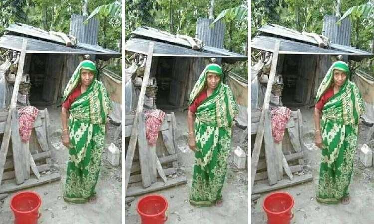 কেমন আছেন পটুয়াখালীর চাল-চুলোহীন রোকেয়া
