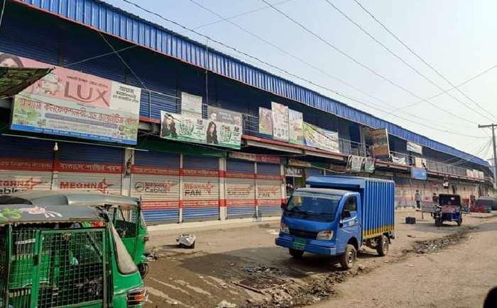 কার্যকর লকডাউন পালিত হচ্ছে সোনারগাঁয়ে